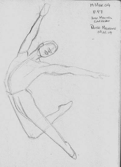 Jose Manuel Carreno, from Dance Magazine